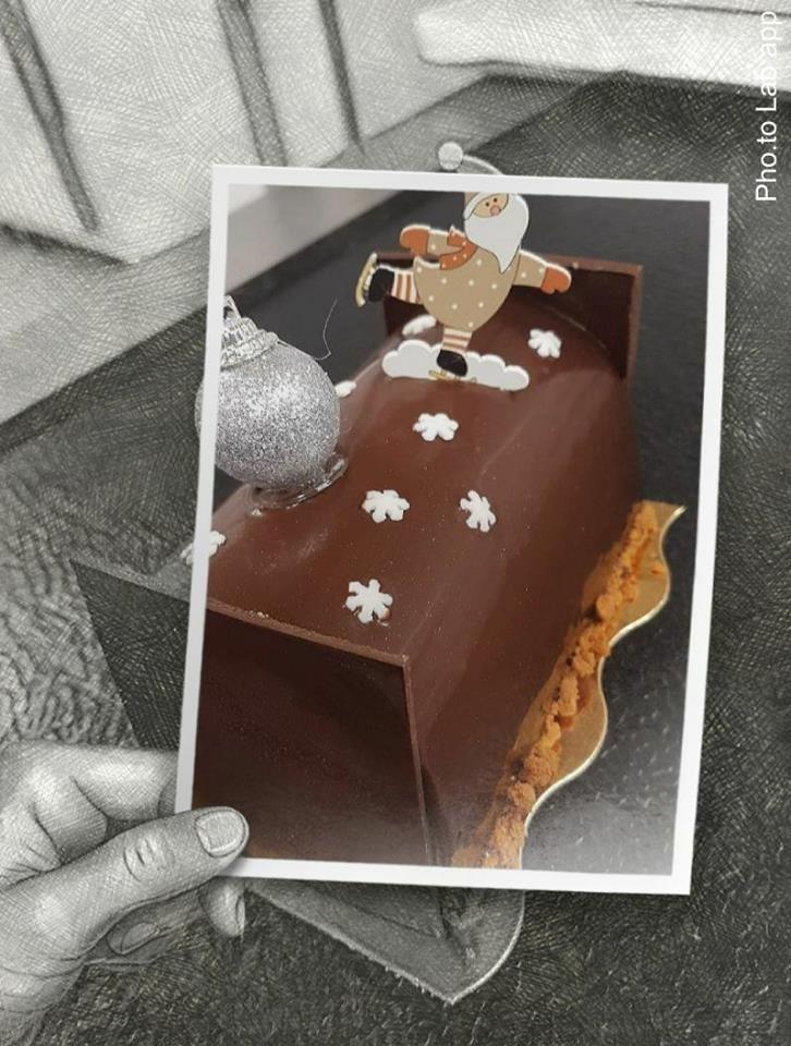 Bûche Trois Chocolat