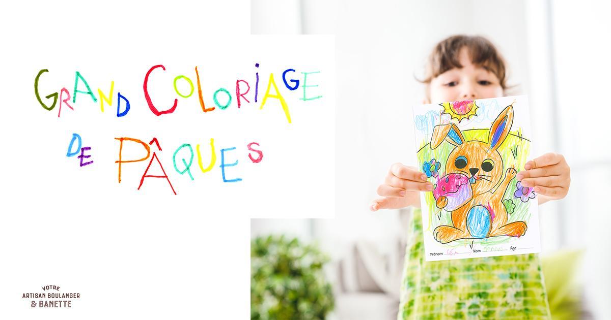 Concours de Coloriage de Pâques