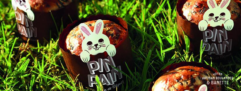 Brioche de Pâques aux pépites de chocolat